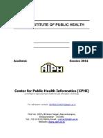20 Cphi Admission Form 2011