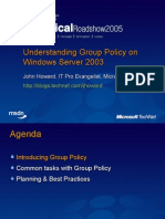 Understanding Group Policy on Windows Server 2003[1]