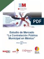 La Contratación Pública Municipal en México