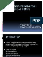 Screening Methods of Antianginal Drugs