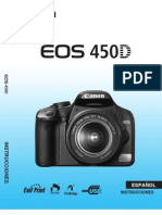 Manual Canon EOS 450D ES