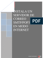 Servidor De Correo SMTP/POP3/IMAP