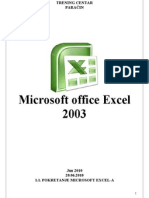 Skripta Excel 2003