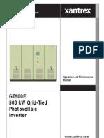 GT500E Operation Manual (152670 Rev-B)