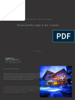 Hotel of the Week  Brentwood Bay Lodge & Spa