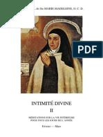 Gabriel de Ste Marie-Madeleine - Intimité divine II