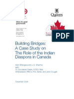 Building Bridges Indo Canada