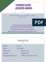 58080793 Lapkas Gastritis