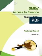 Informe analítico comisión Europea acceso a la financiación de PYMES