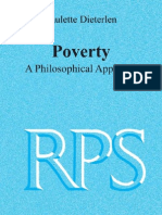 Poverty - A Philosophical Approach