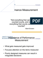 Performance Measurement.