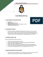 Small Heath Tigers Fc - Club Manual