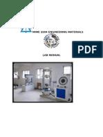Lab Manual- Engg Mtls