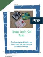 Tutorial - Scrappy Loyalty Card Wallet