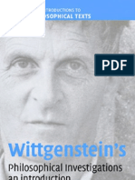 0521814421 - David G. Stern - Wittgenstein's Philosophical