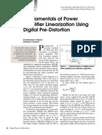 Fundamentals of Power Linearization