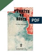 Akdes Nimet Kurat Türkiye ve Rusya