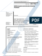 Nbr 11768 - 1992 - Eb 1763 Aditivos Para Concreto de Cimento Portland