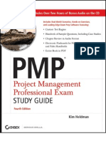 Pmp Exam Study Guide 2007