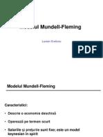 Cursul 2 Modelul Mundel Fleming