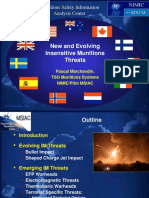 Pascal Marchandin- New and Evolving Insensitive Munitions Threats