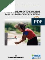 Agua, Saneamiento e Higiene para las Poblaciones en Riesgo