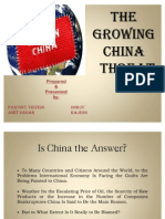 The Growing China Threat