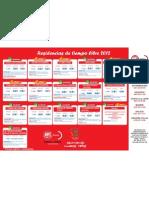 Cartel de Residencias 2012