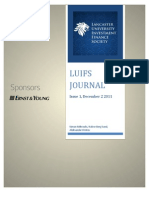 LUIFS Journal 1, Dec2 2011