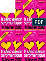 Saint Valentin Séromantique 2012 - cartons d'invitation - couleur