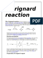 Grignard Reaction