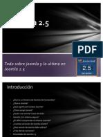 Introducción a Joomla y Joomla 2.5