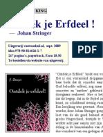 (recensie) Ontdek je Erfdeel - Johan Stringer