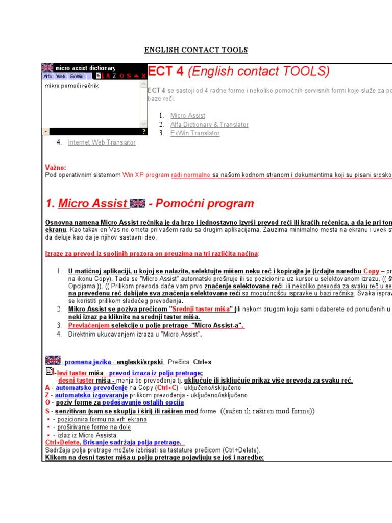 Ect4 Prevodilac