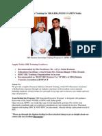HR Summer Internship Training Appin Noida