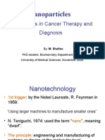 Nanoparticles in Cancer Therapy and Diagnosis