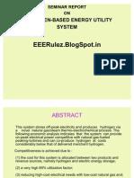 Hydrogen-based Energy Utility - Eeerulez.blogspot.in