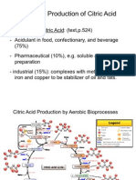Industrial Production of Citric Acid and Ethanol