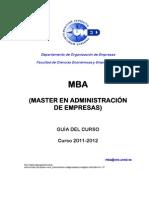GUIA MBA 2011-2012