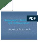 Radio Graphic Testing and Film Interpretation