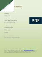 Formulario de inscripción - Curso de fagot con Javier Aragó