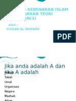 Analisis Kebenaran Islam Melalui Teori Himpunan