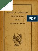 Sectas y sociedades protestantes en América Latina - 1929