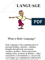 Body Gesture PPT