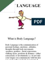 Body Gesture PPT