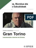 Unitate didaktikoa Gran Torino (euskera)