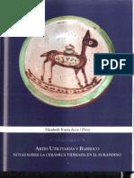 Artes Utilitarias y Barroco. Notas sobre la cerámica vidriada en el surandino