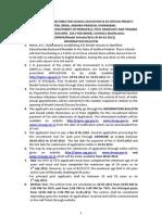 Information Bulletin Model Schools