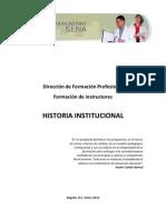 01. Historia Institucional
