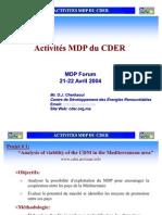 (18.2) Presentation-MDP Forum Marrakech-oussama
